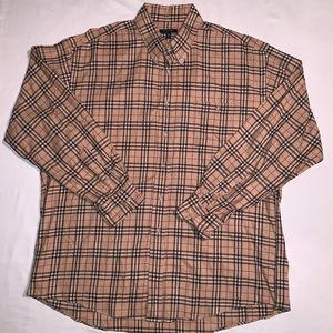 Burberry Nova Check Mens Size XL Button Down